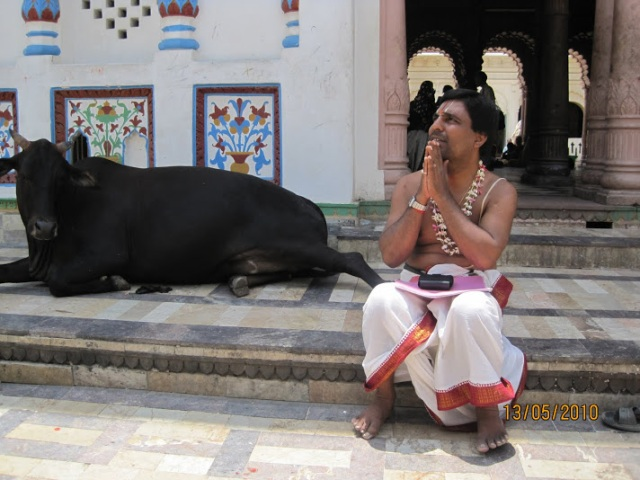 aidyen at Janakpur temple