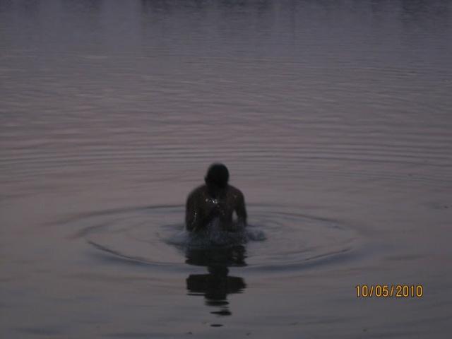 bath at Ganges,Buxar