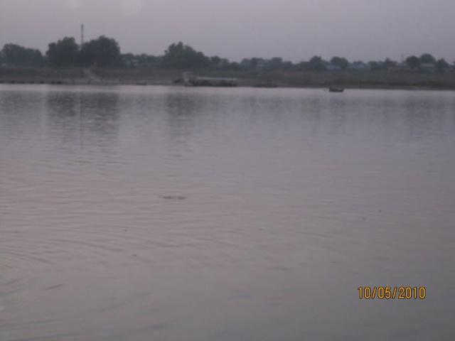 Ganges at Ram Rekha Ghat,Buxar