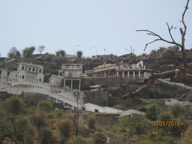Hanuman dhaara on hill top