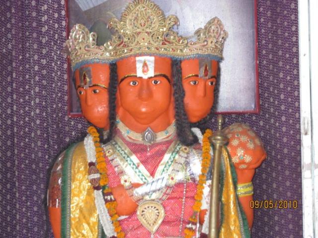 Hanumar near Guptar Ghat