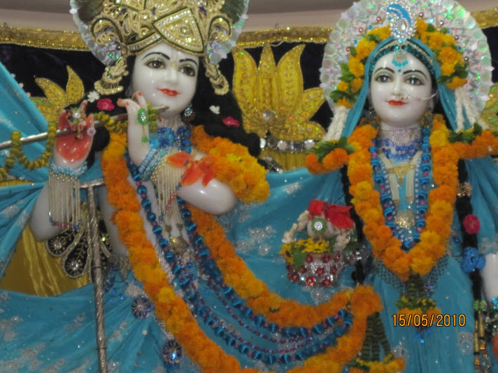 Lordships at ISKCON, Allahabad
