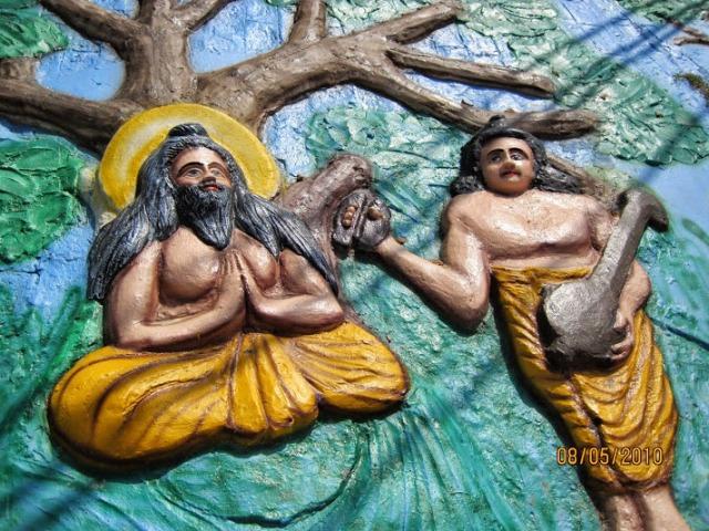 Narada praises Rama's qualities
