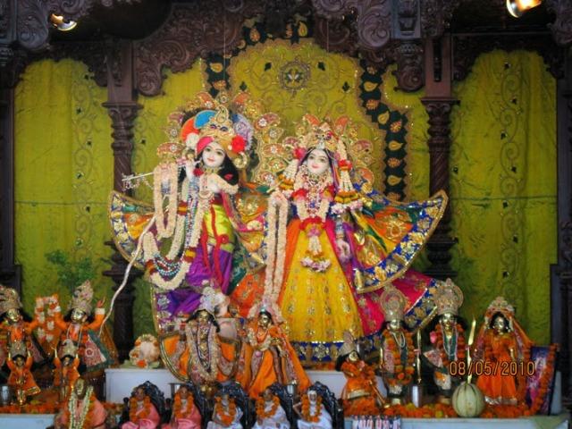 RAdha-Krishna dieties at ISKCON,Kanpur