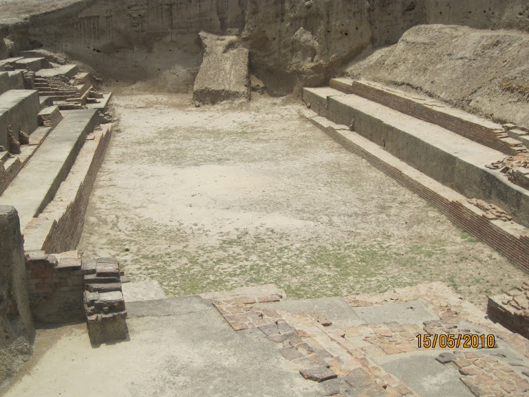 Rama's stay with Guha-excavated site