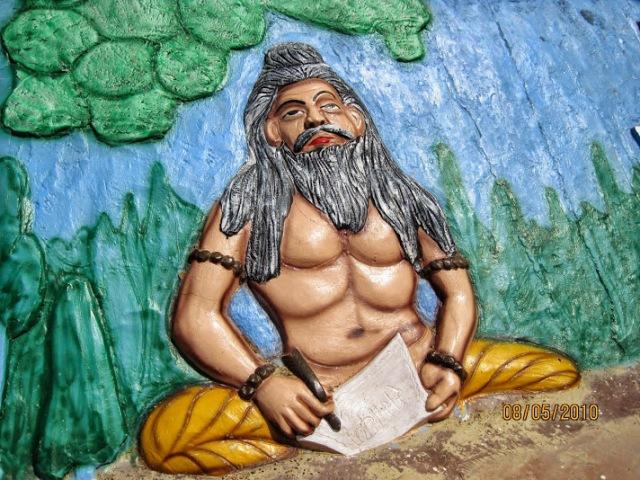 valmiki writing RAmayana