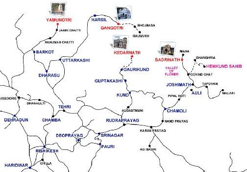 badri map