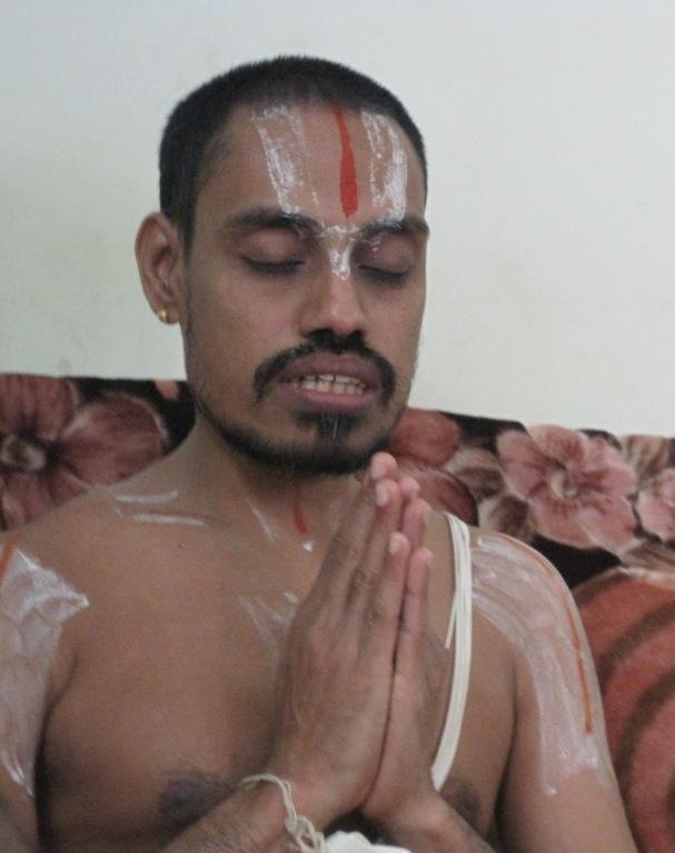 Asmath Acharyar His Holiness Swami Sri U. Ve. K. K. V. A.Kumara Ramanujachaaryar