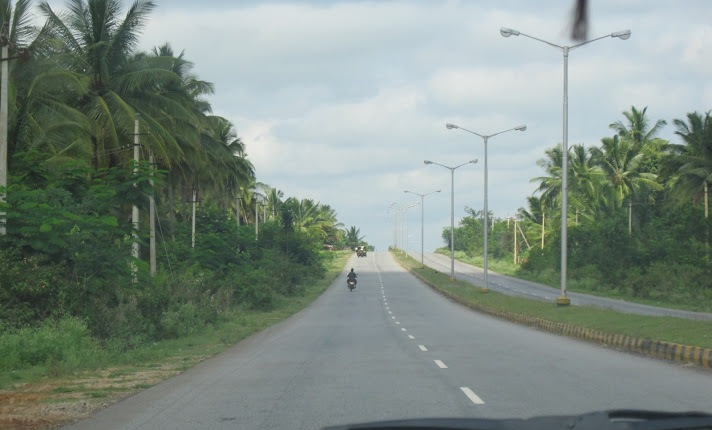 En route to Belur-Mangalore Highway