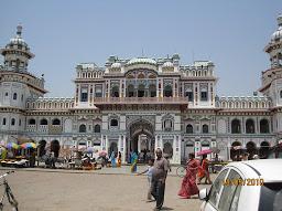 Janakpur temple