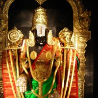 """At Tirumala   .....................                                              """" Vastralankara Seva"""" (Melchert Vastram)                             darshan  experience"""