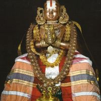 """Thirumazhisai AzhwAr "" incarnation of  Sri. Sudarshana Chakra (the divine discus of Lord SrimanNarayana)"