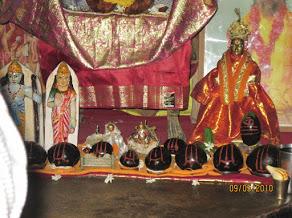 Srimurthis at Bharat Mandir,Nandigramam