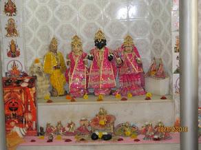 Lava Kusha jansmasthaan-Sita,Ramar,Lava,Kusha sannidhi at Valmiki ashram,Bittoor