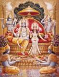 Lord Vishnu and Mother Lakshmi