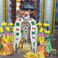 LORD  SOWRIRAJA  PERUMAL  OF THIRUKANNAPURAM  WHO GREW HAIR FOR HIS DEVOTEE