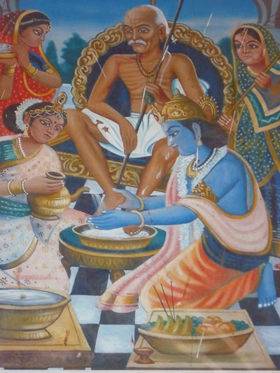 Painting at Sudhama Dwaraka