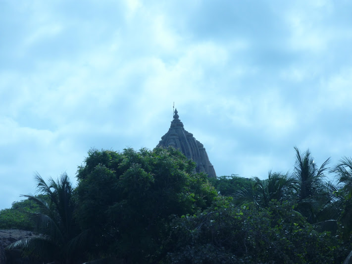 SOMNATH TEMPLE .LONG VIEW