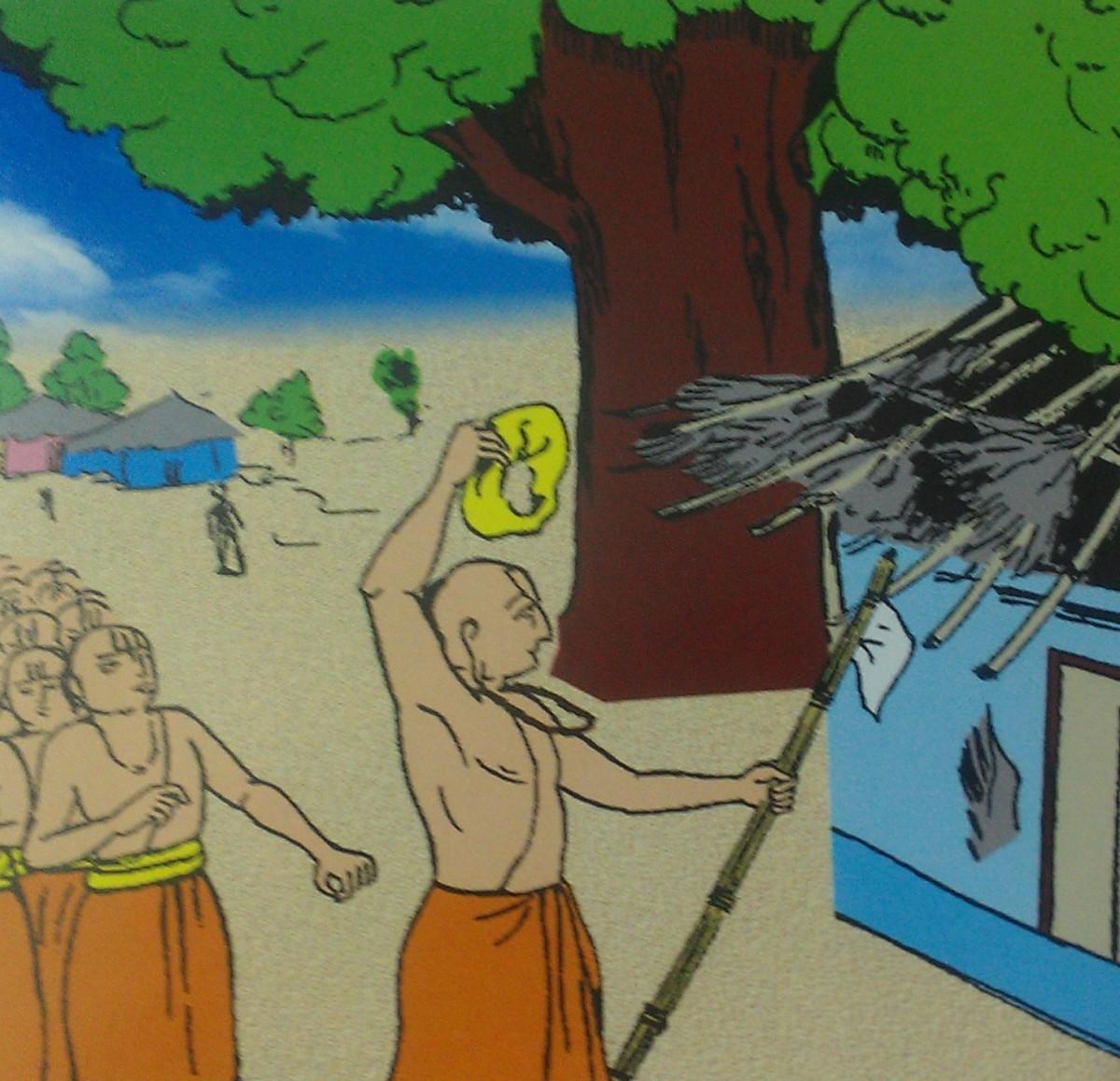 """Ekadandee to  Tridandee - """" Arulala  Perumal  Emberumanar vaibhavam  """""""