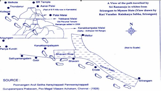 path-taken-by-swami-ramanuja