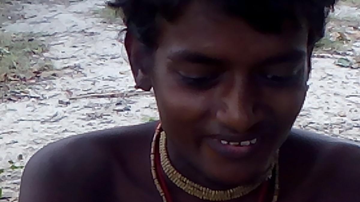Chinni Krishna's butter cup ( Dhonai leela ) at Vrindaavan