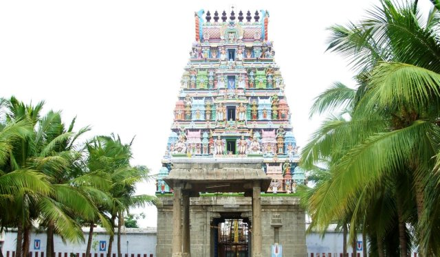 Long Shot of Main Gopuram
