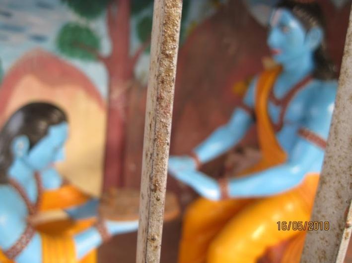 Paduka dhaan sannidhi, Kamadgiri,chitrakut.jpg