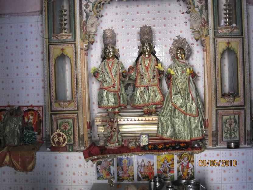 Sri Ramar sannidhi at Gupthar Ghat,Ayodhya