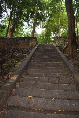 steps leading to sita kotuwa