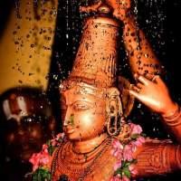 Sri Rama Rama Rameti,             Ramey Ramey Manoramey; Sahasrenama tattulyam,              Rama Nama Varanane